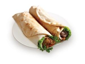 Chicken-kebab-roll