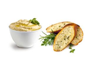 Humus-Bread
